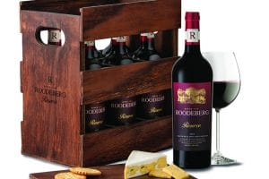 ROODEBERG LAUNCHES NEW RESERVE WINE IN A STYLISH WOODEN CRATE