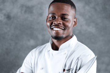THE STUDENT CHEF WHO IS COOKING FOR CELEBRITIES