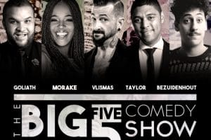 THE BIG 5 COMEDY SHOW GET READY FOR HIGH-STERICS WITH AN ALL NEW LINE-UP THIS NOVEMBER #big5comedyshow