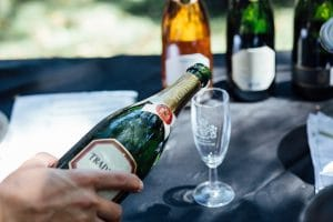 BUBBLES, FRUITCAKE AND MUSIC FOR FESTIVE CHEER