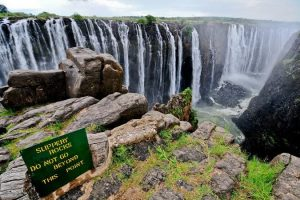A visit to Victoria Falls in the low-season will be the biggest high