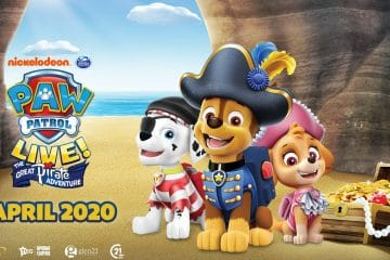 X BARKS THE SPOT IN A NEW LIVE PAW PATROL SHOW: THE GREAT PIRATE ADVENTURE