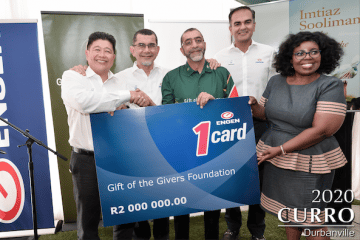 ENGEN PARTNERS WITH GIFT OF THE GIVERS TO AID NATIONAL HUMANTARIAN RELIEF EFFORTS FOR SOUTH AFRICANS