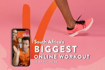 SOUTH AFRICA: STAY FIT, HEALTHY, CONNECTED AND SET A NEW RECORD TOGETHER