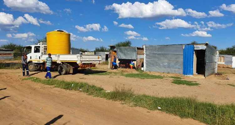 MORE THAN 500 WATER TANKS TO BE DISTRIBUTED TO WESTERN CAPE INFORMAL SETTLEMENTS