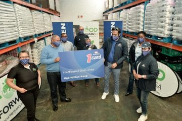 ENGEN PLEDGES R1M FUEL TO FOODFORWARD SA