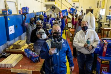 WESTERN CAPE NON-PROFIT SKILLS DEVELOPMENT COURSE RECEIVES LARGE POWER TOOLS DONATION