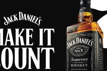 """JACK DANIEL'S USES FIRST GLOBAL CAMPAIGN TO 'MAKE IT COUNT'"""""""