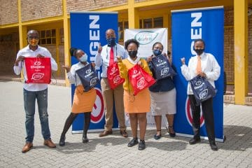 ENGEN PLEDGES ANOTHER R1M TO CARING4GIRLS FEMININE HYGIENE INITIATIVE