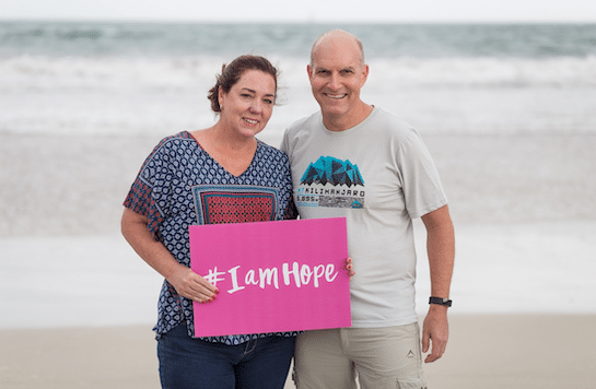 HOPE BEGINS WITH YOU, SAY CANCER SURVIVORS