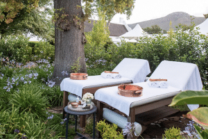 STEENBERG SPA IS A HAVEN OF SERENITY WITH TRANQUIL OUTDOOR SPACES