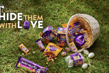 ENJOY AN EGGCITING NEW RANGE OF #CADBURYEASTEREGGS TO HIDE WITH LOVE THIS EASTER