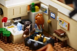 THE ONE WITH THE LEGO® FRIENDS APARTMENTS SET