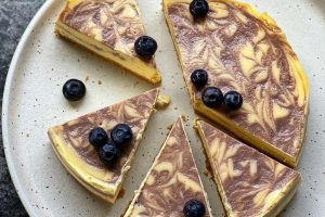 ZOLA NENE'S QUICK AND EASY BLUEBERRY CHEESECAKE