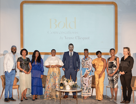 BOLD CONVERSATIONS BY VEUVE CLICQUOT AIMS TO EMBOLDEN SUCCESSIVE GENERATIONS OF AUDACIOUS FEMALE LEADERS IN SOUTH AFRICA
