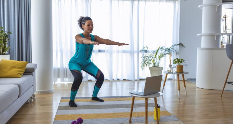 STAY FIT WITH THESE EASY AT-HOME, NO-EQUIPMENT EXERCISES
