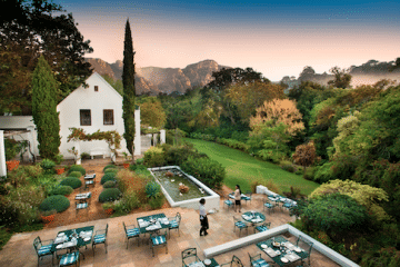 THE CELLARS-HOHENORT TO PRESENT AN UNFORGETTABLE HIGH TEA DURING HERITAGE DAY WEEKEND