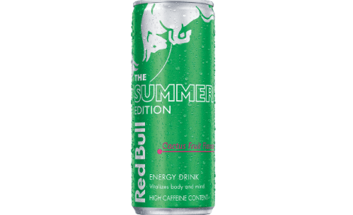 SUMMER OFFICIALLY ARRIVES WITH THE LAUNCH OF RED BULL® SUMMER EDITION: CACTUS FRUIT