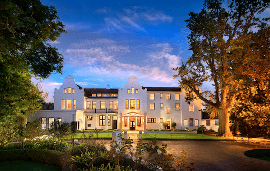 THE CELLARS-HOHENORT JOINS FORCES WITH EAGLES' NEST TO SHOWCASE THE BOUNTY OF THE CONSTANTIA VALLEY