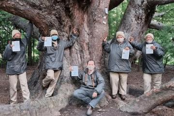 VERGELEGEN WINE ESTATE PLANTS TREES FOR POSTERITY