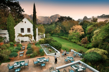 THE CONSERVATORY RESTAURANT AT THE CELLARS-HOHENORT PULLS OUT ALL THE STOPS FOR RESTAURANT WEEK
