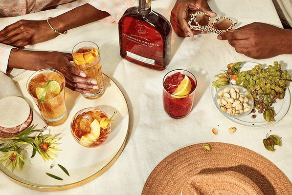 A SPRING SPECTACLE FOR THE SENSES: BOURBON COCKTAILS